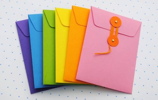 Kako napraviti kovertu za pismo