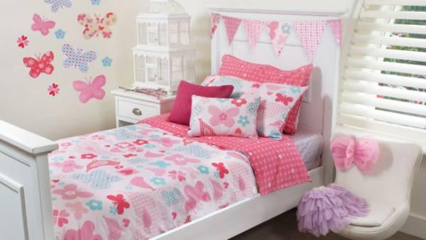 ukrašavanje spavaće sobe za devojčice