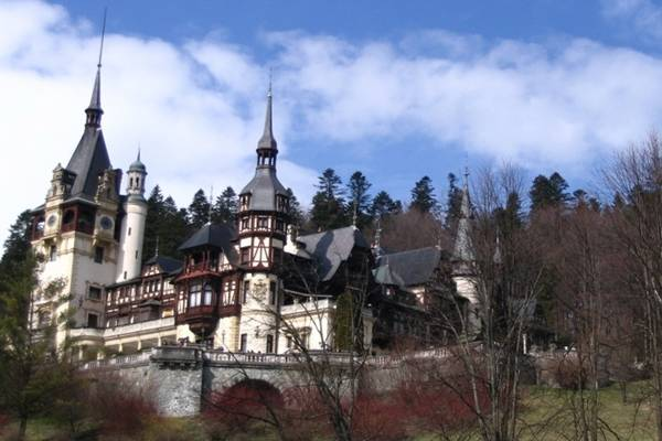 Zamak grofa Drakule u Transilvaniji