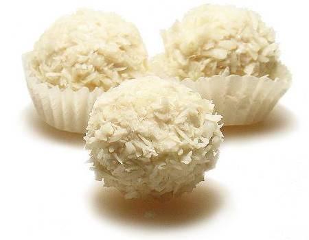 recept za kuglice od kokosa i ratluka