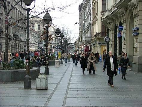 Knez Mihajlova - Glavna ulica u Beogradu