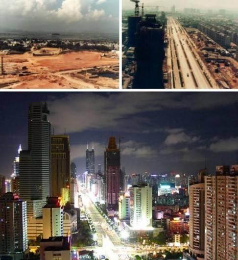 Shenzhen pre i posle