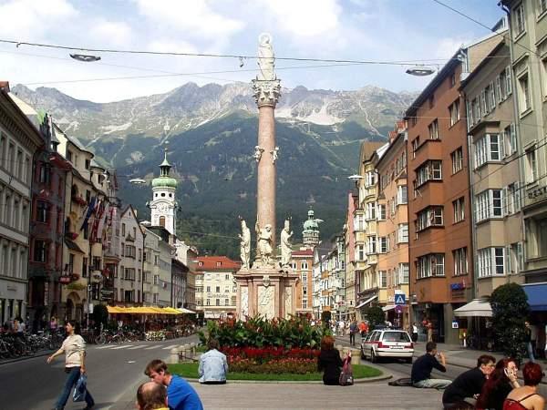 Insbruk, Austrija