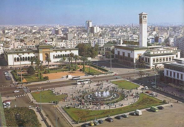Kazablanka, Afrika