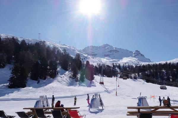 Sent Moric, Švajcarska - Zimovanje, skijanje