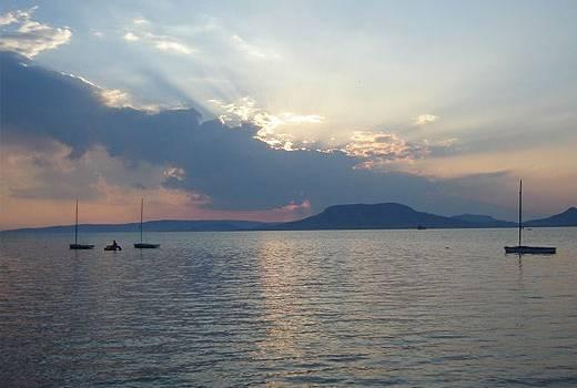 Jezero Balaton Madjarska