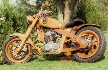 Drveni motocikl 7