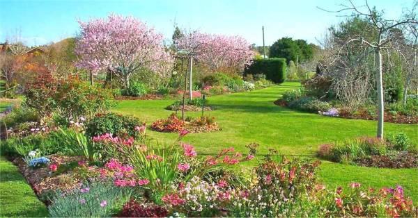 Prolecno uredjenje vrta