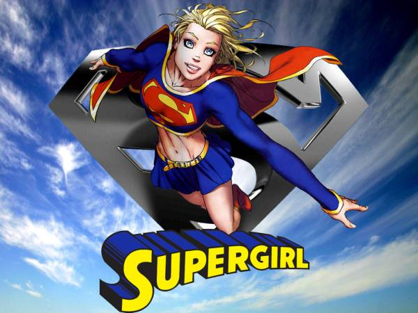 Još jedna omiljena herojina - Superdevojka