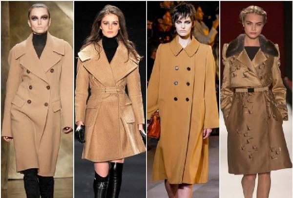 Jesenji kaputi odlično stoje uz suknje i haljine