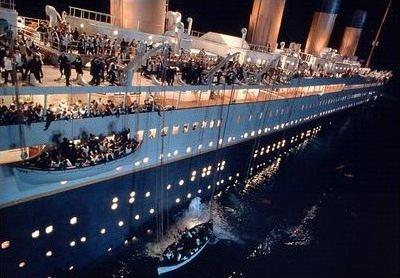 Glavni problem je bio mali broj čamaca za spašavanje
