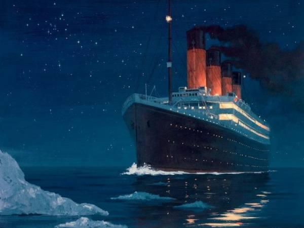 ",,Titanik"" je potonuo na svom prvom i poslednjem putovanju."