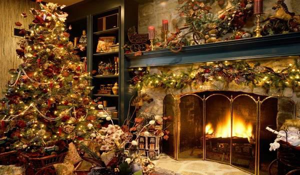 Dekoracija enterijera za Novu godinu
