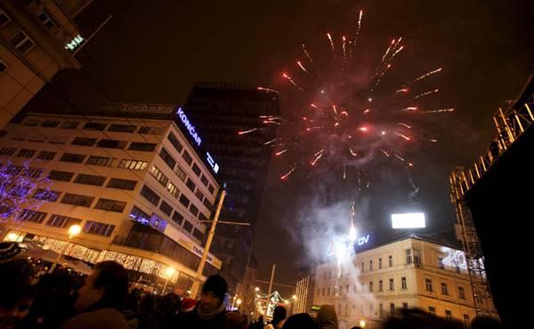 Docek Nove godine u Zagrebu 2014
