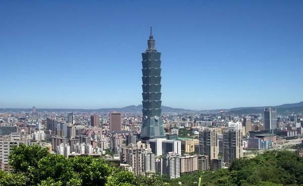 Taipei 101, Tajvan