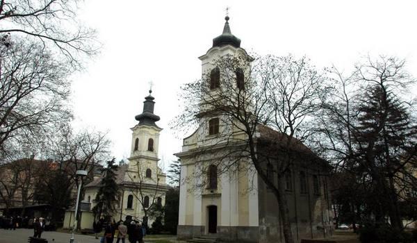 crkva svetog roka zemun