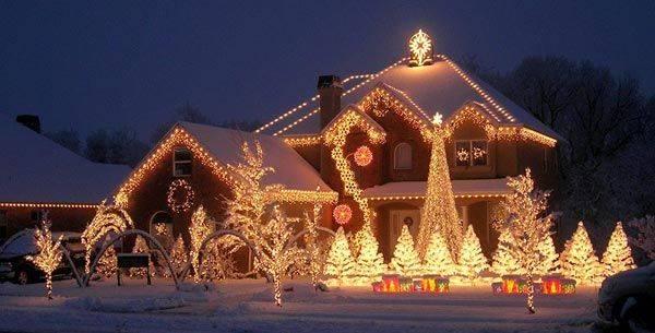 dekoracija kuca nova godina