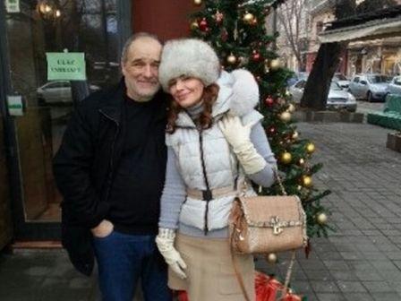 Đorđe sa suprugom Oljom.