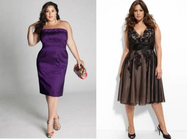Svečane haljine za doček Nove Godine za punije dame
