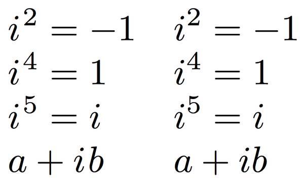 imaginarni brojevi