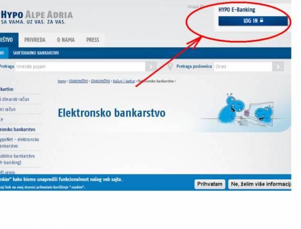 Kako da pristupite svom e-banking nalogu?