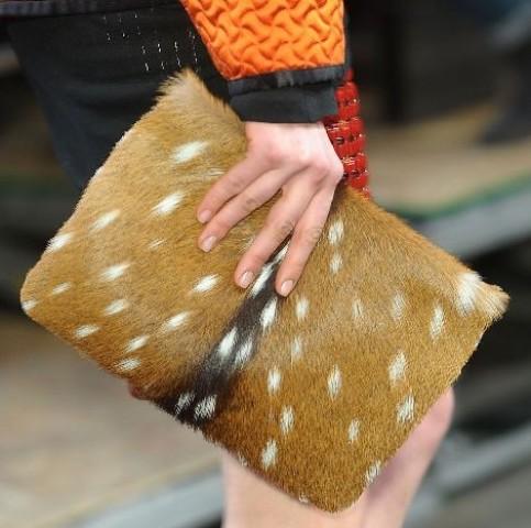 Elegantne krznene torbice