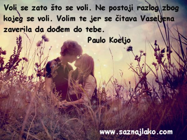 citati o ljubavi paulo koeljo