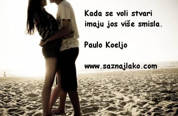 ljubavni statusi paulo koeljo