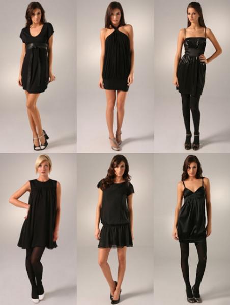 Malu crnu haljinu možete nositi na hiljadu i jedan način.