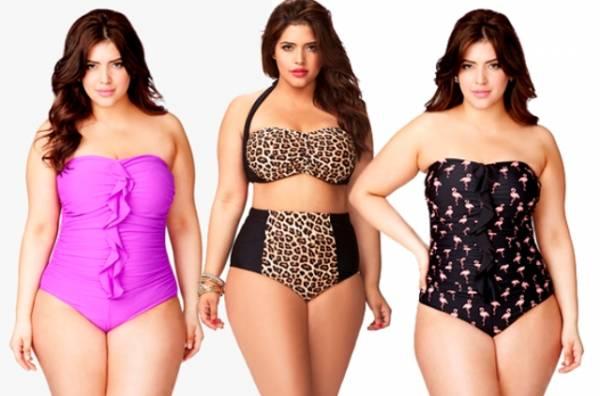 Za punije dame idealni su kupaći kostimi sa dukokim strukom