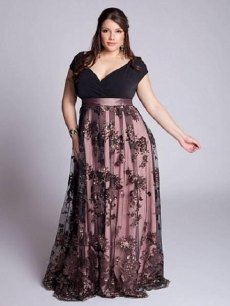 Haljine za punije dame u elegantnijoj varijanti