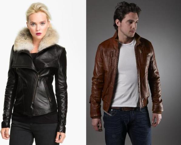 Kožne jakne idealne za prelazni period