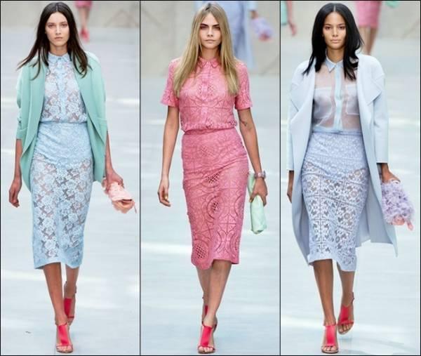 Elegantne čipkaste haljine za svaki dan