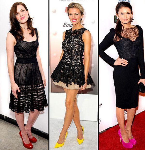 crna-haljina-cipele
