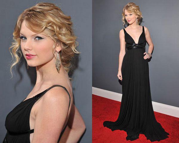 crna-haljina-lagana-sminka