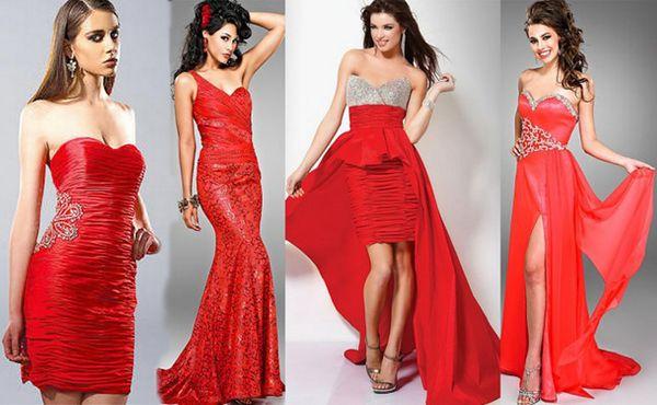 crvene haljine