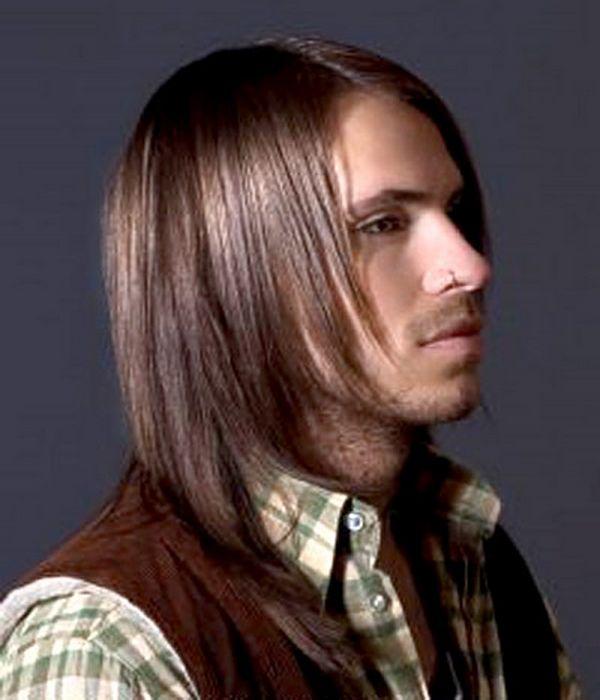 Duga muška kosa