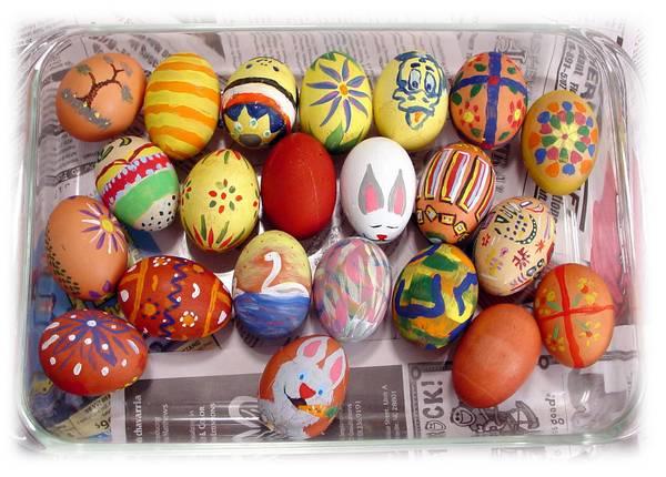 farbanje jaja sa flomasterima