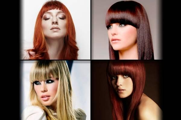 Frizura za dugu kosu sa šiškama