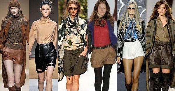 Šortsevi i bluze sjajna su odevna kombinacija za letnji izlazak