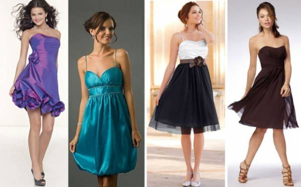 elegantne haljine do kolena za svadbu