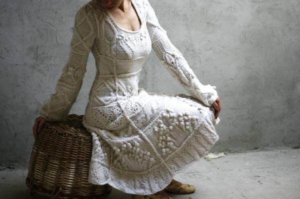 heklane haljine pletena