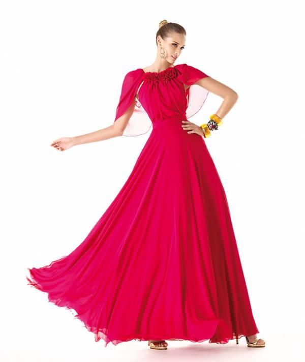 koktel haljina crvena