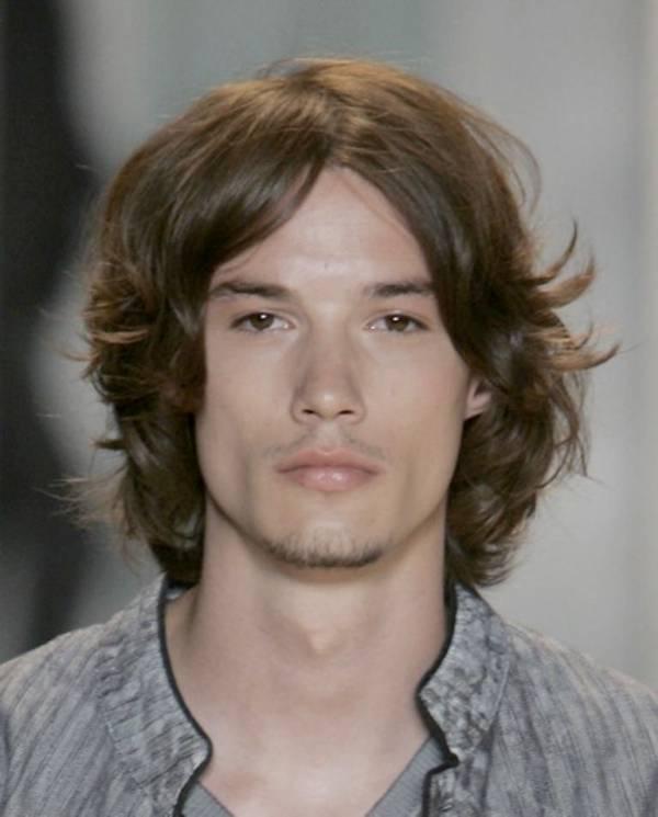 Frizura za muškarce sa dugom kosom