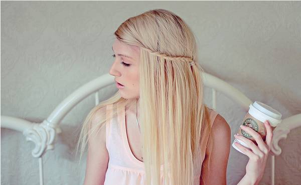 Pletenica za dugu ravnu kosu