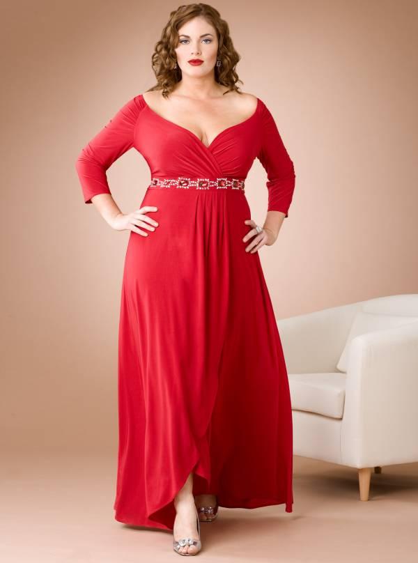 punije dame duga haljina