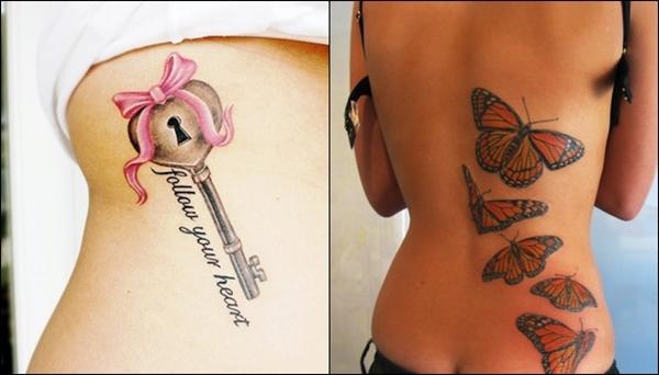 Najlepše ženske Tetovaže Saznaj Lako