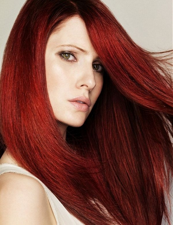 crvena kosa sminkanje