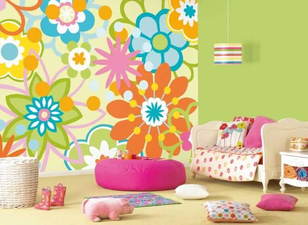 dekorativne tapete decija soba