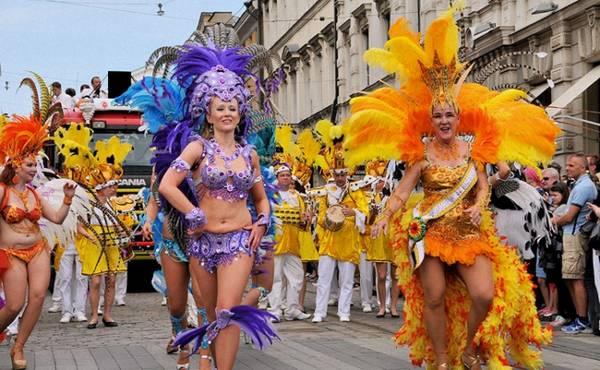 Samba ples